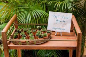 succulent_favors_teak_cart_paradise