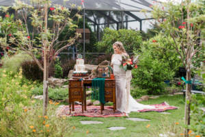 boho_rug_bride_cake